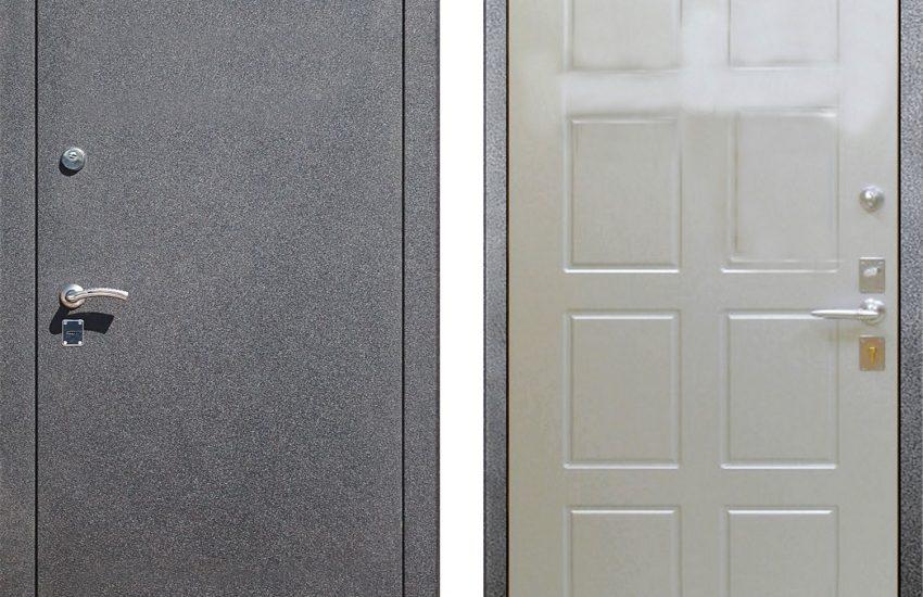 покрасить уличную металлическую дверь